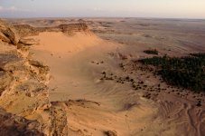 erdölfelder in der sahara